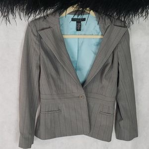 LAUNDRY by Shelli Segal gray career blazer size 8